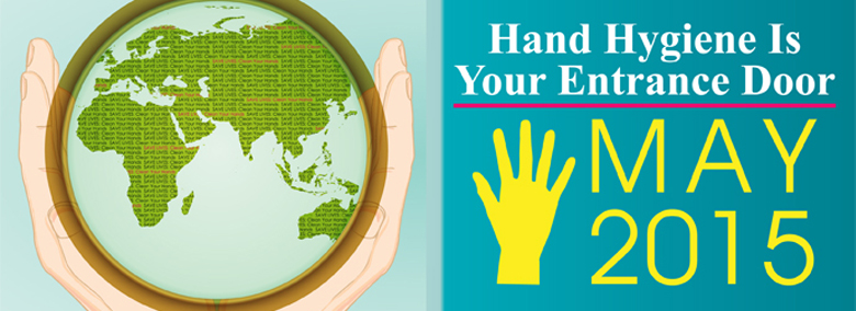 The opening of the 5 May Hand Hygiene Day 2015 campaign web page!