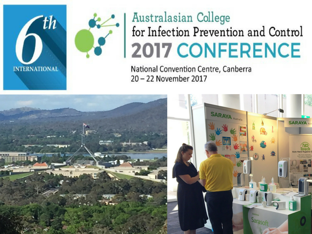 November 19th - 22nd 2017 Australia College for Infection Prevention and Control Conference