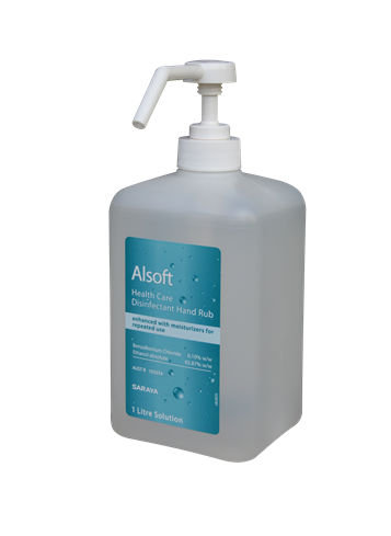 Alsoft Health Care Disinfectant Hand Rub (1L)