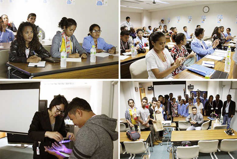 SARAYA welcomes students from East Timor