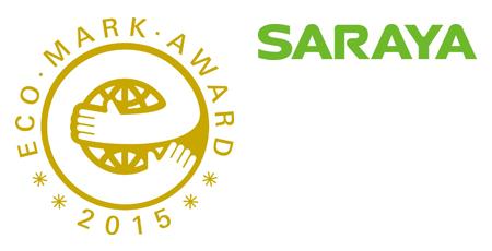 Saraya wins 'Eco Mark Award 2015' Gold Prize
