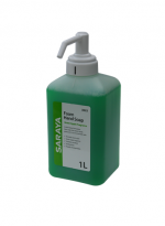 Saraya Foaming Soap Green Apple 1L