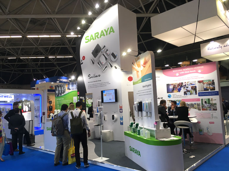 Saraya Europe participated at Interclean Amsterdam 2018